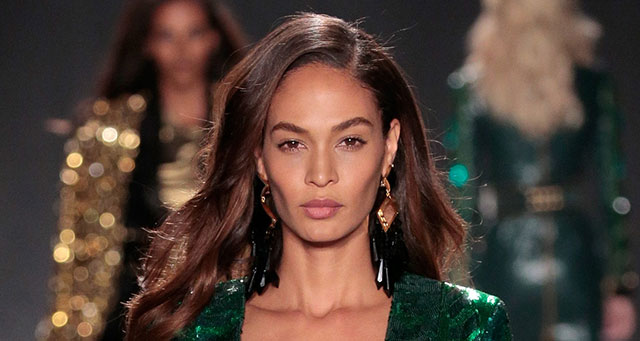 Of Course Joan Smalls Shut Down the BALMAIN X H&M Runway — Come See the Pics