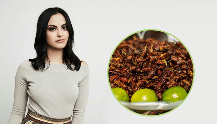 When in Mexico, Camila Mendes Indulges in Insects