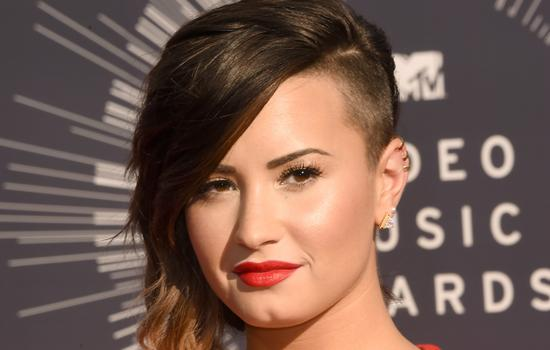 Demi Lovato at the 2014 MTV Video Music Awards