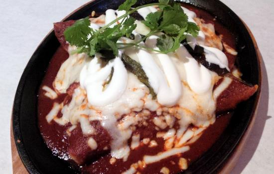Steak Enchiladas from Alex Garcia