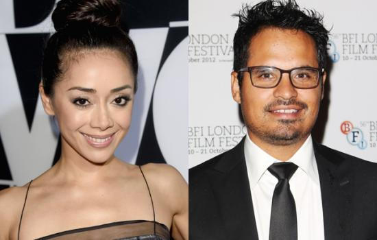 AImee Garcia and Michael Pena