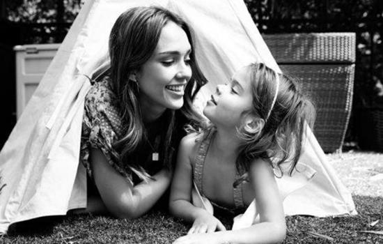 Jessica Alba and Daughter Honor