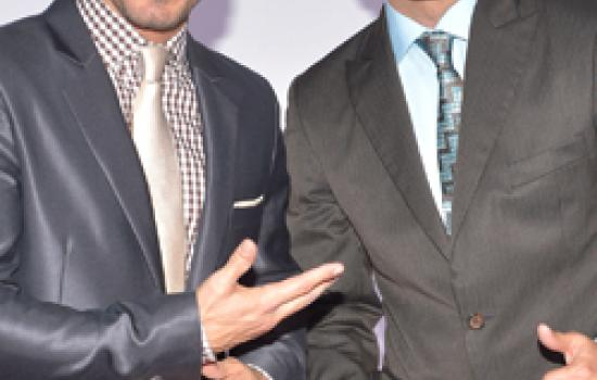 Alexis y Fido at the Billboard Latin Music Awards in April 2012