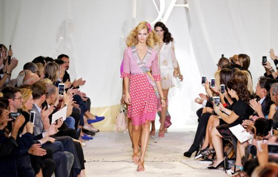 Latina On The Runway: DVF Channels Her Inner Bohemian Goddess For Her SS16 Collection