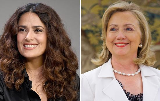 Salma Hayek Joins Clinton's 'Latinos for Hillary' Campaign