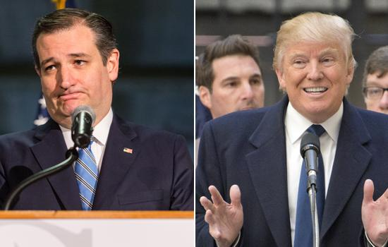 """#TwitterBeef: Donald Trump Threatens to """"Spill the Beans"""" on Ted Cruz's Wife"""