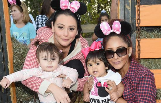 Que Cute! Snooki & JWoww's Kids Have First Playdate Together