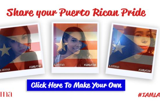 Celebrate the Puerto Rican Day Parade With Your Own #IAmLatina Selfie!