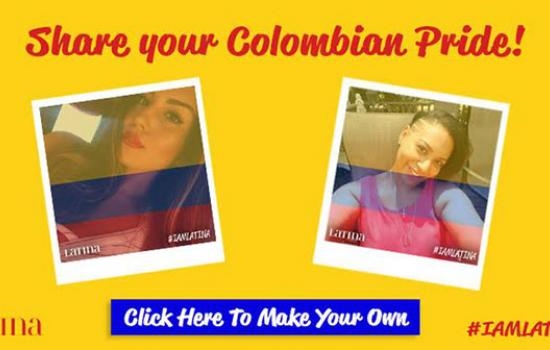Celebrate Colombian Independence Day with Your Own #IAmLatina Selfie!