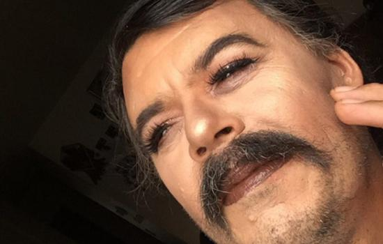 Aspiring Mexican Makeup Artist Uses Dad as Model and Internet Questions His Masculinity