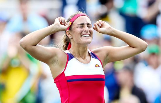 Tennis Star Monica Puig Wins First-Ever Olympic Gold for Puerto Rico