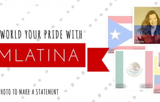 Celebrate Hispanic Heritage Month With Your Own #IAmLatina Flag Selfie!