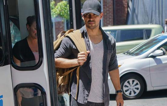WATCH: Wilmer Valderrama Crashes into 'NCIS' & Leaves