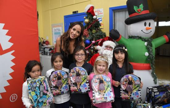 EXCLUSIVE: Dania Ramirez Proudly Partners with Mattel to Donate Toys to the Boys & Girls Club