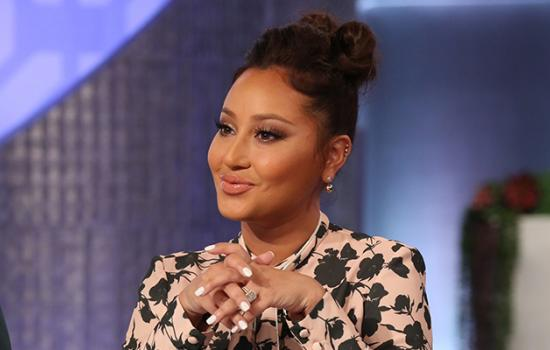 Adrienne Bailon's Secret to Sexy Time is the #SpankAndRub