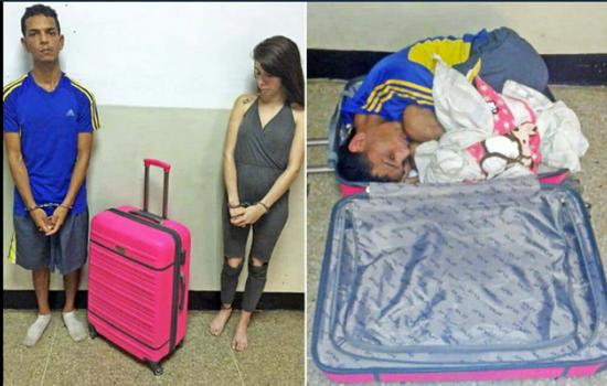 This Venezuelan Woman Was Arrested for Trying to Smuggle Her Boyfriend in a Suitcase
