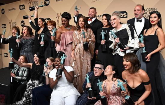 The Cast of Orange is the New Black Were Among the Winners at the SAG Awards— See Who Else Took Home an Award