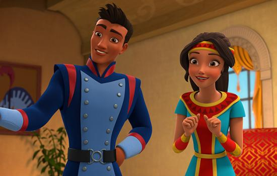 EXCLUSIVE: Watch Jorge Diaz Make His Singing Debut on 'Elena of Avalor'