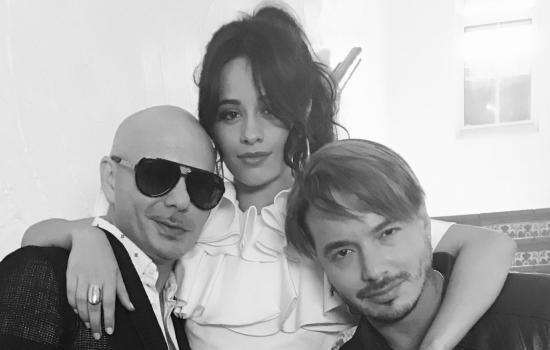 Pitbull Spotted Filming a Music Video Featuring Camila Cabello & J Balvin