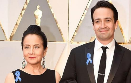 Lin Manuel at the Oscars