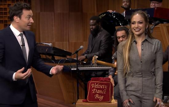 Watch Jimmy Fallon & Jennifer Lopez Dance Battle