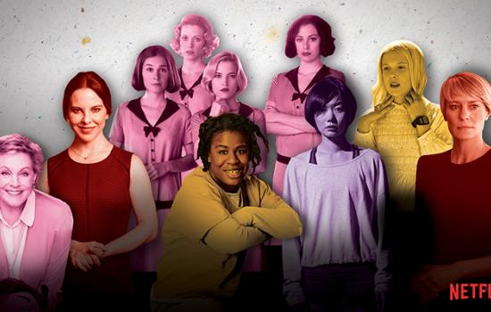 These Netflix Characters Are the Dominating Women's History Month