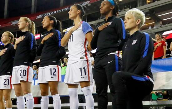 U.S. Soccer Players Are Required to Stand for National Anthem