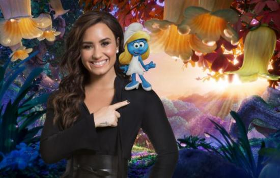 Demi Lovato's 'Smurfs' Audition Is Proof Why She Was Made for the Part