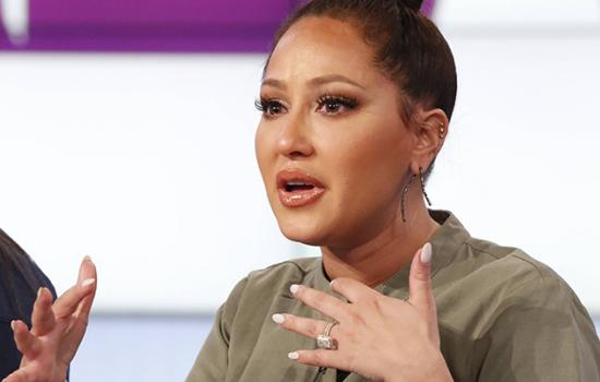 WATCH: Adrienne Bailon Gets Emotional Discussing Relationship With Her Father