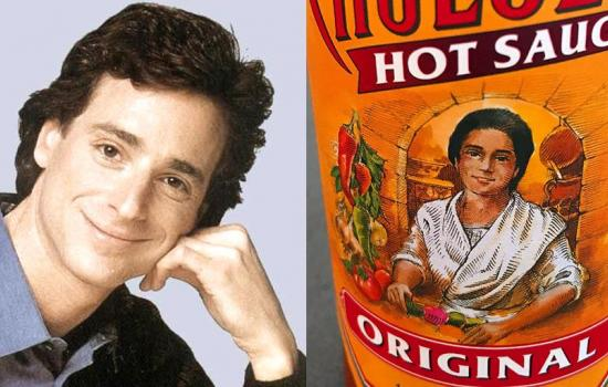 Bob Saget Looks Like the Cholula Hot Sauce Lady
