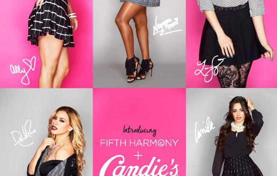 Yass Queen! The Girls of Fifth Harmony Named New Faces of Candie's