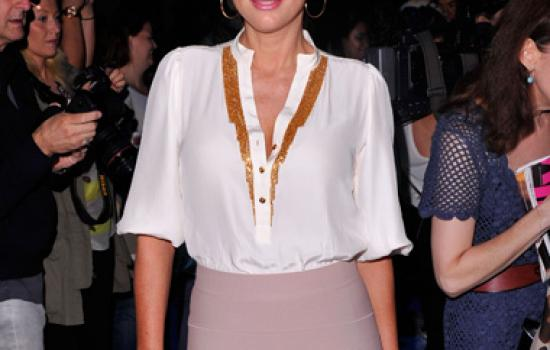 Daisy Fuentes at the Carlos Miele Spring 2013 fashion show