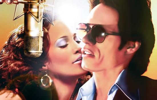 Jennifer Lopez and Marc Anthony in El Cantante