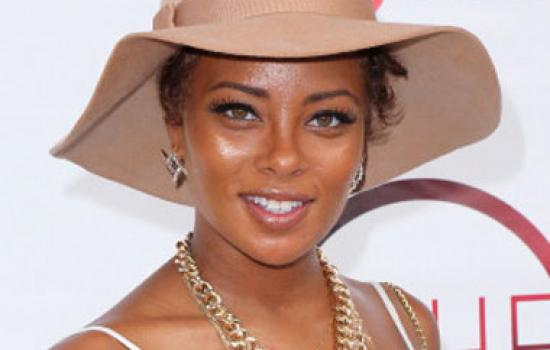 Eva Marcille in a hat