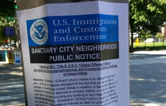 Fake ICE Flyers Urging People to Report Undocumented Immigrants
