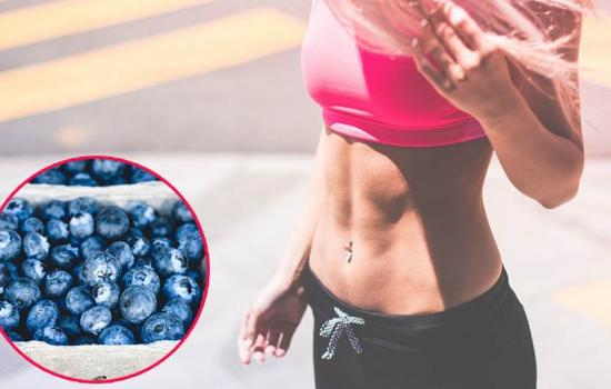 Flat Stomach Food Blue Berries