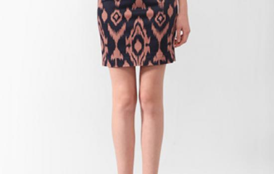 Forever21 Ikat Pencil Skirt