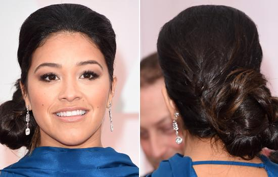 Get the Look: Gina Rodriguez's Beauty Look from the 87th Academy Awards