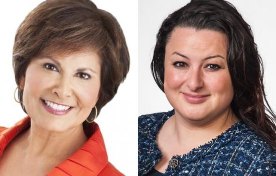 Gloria Campos and Marce Gutierrez