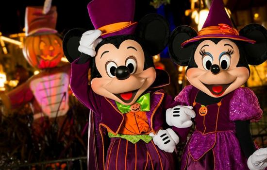 Mickey and Minnie Mouse Halloween Party