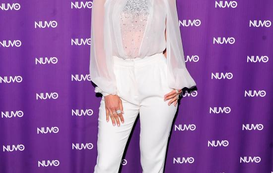 Jennifer Lopez at Nuvo TV Upfronts