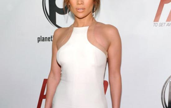 Jennifer Lopez at the Parker Las Vegas premiere