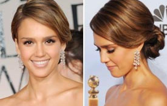 Be Beautiful: How to Get Jessica Alba's Updo