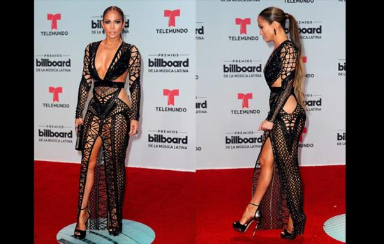 Jennifer Lopez Dress Billboard Red Carpet