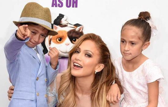 Jennifer Lopez and Her Kids