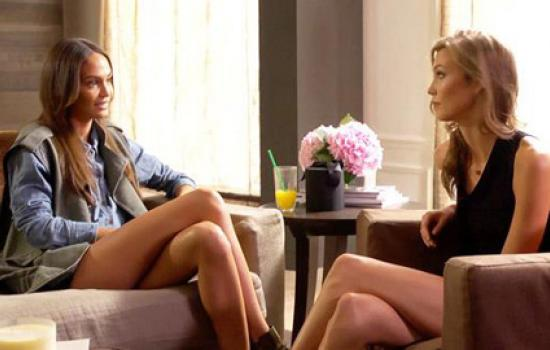 Joan Smalls and Karlie Kloss on MTV House of Style