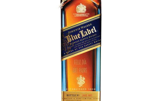 """Nothing Says """"Happy Father's Day"""" Better Than An Engraved Bottle Of Johnnie Walker"""