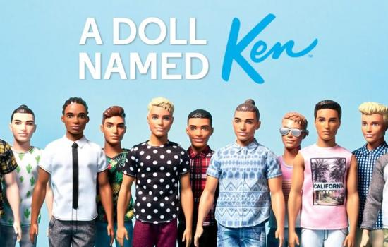 Ken Doll Now Comes in New Shades