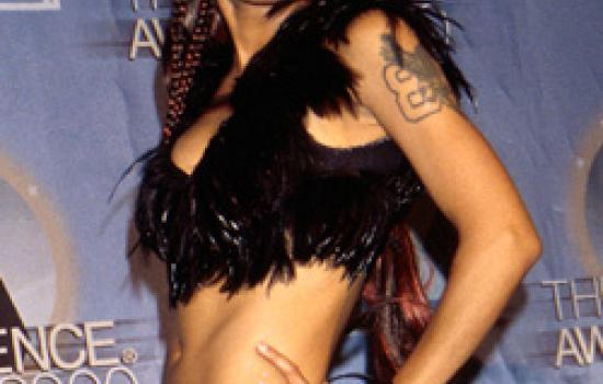 Lisa Left Eye Lopes at the Essence Awards in 2000
