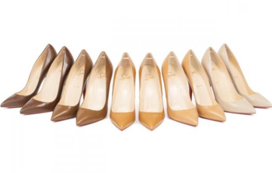 Christian Louboutin's Nude Shoe Now Comes in Every Skin Tone Color!